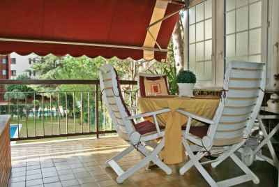 Spacieux appartement avec terrasse dans le quartier chic de Barcelone